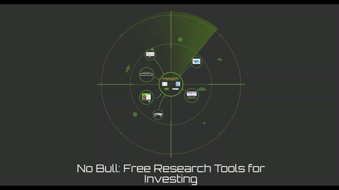 Lecture 8 - No Bull: Free Research Tools for Investing (Video Class)