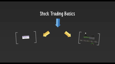 Lecture 9 - Stock Trading  Basics (Video Class)