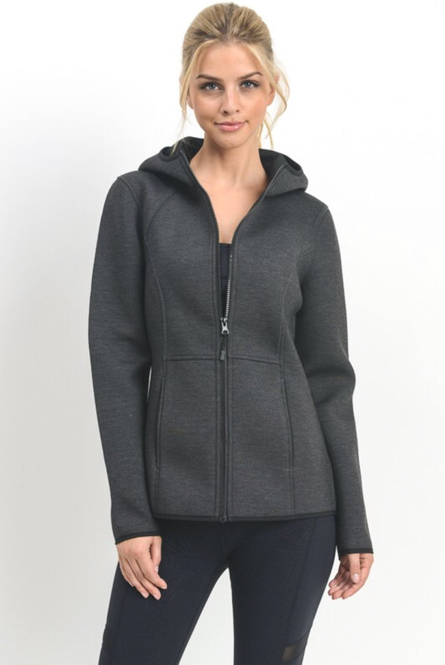Charcoal Grey Performance Jacket