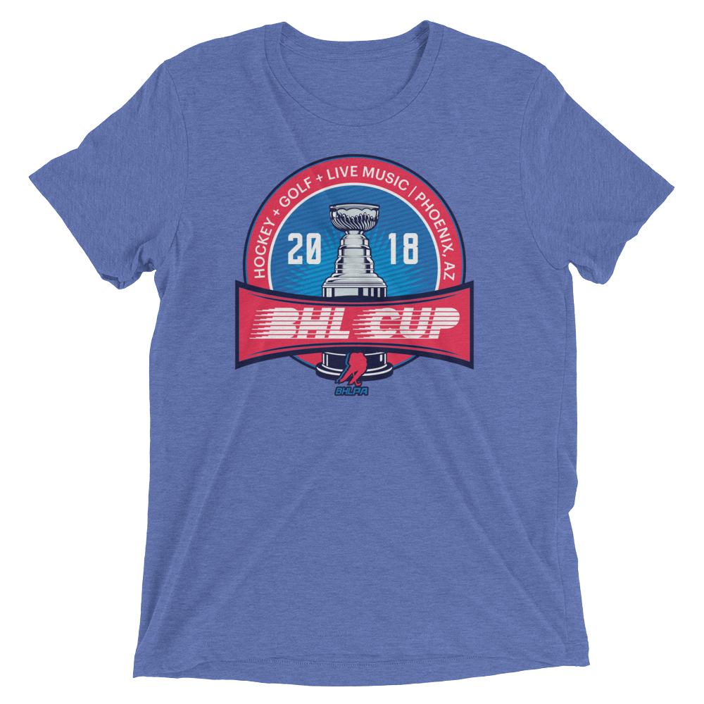 2018 BHL Cup T-Shirt (Blue)