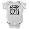 "BABY BOY/GIRL ""Awkward moment"" ONESIE"