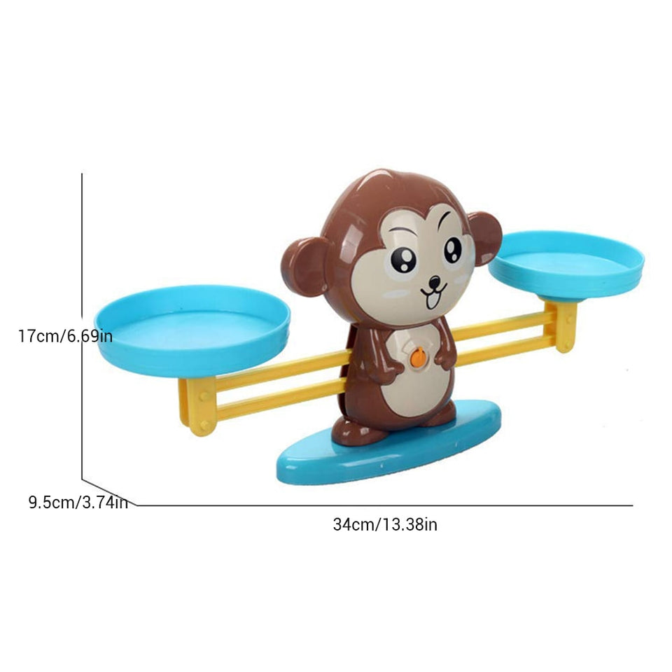 Monkey Balance Educational Toy (BabyTimesOriginals Exclusive)