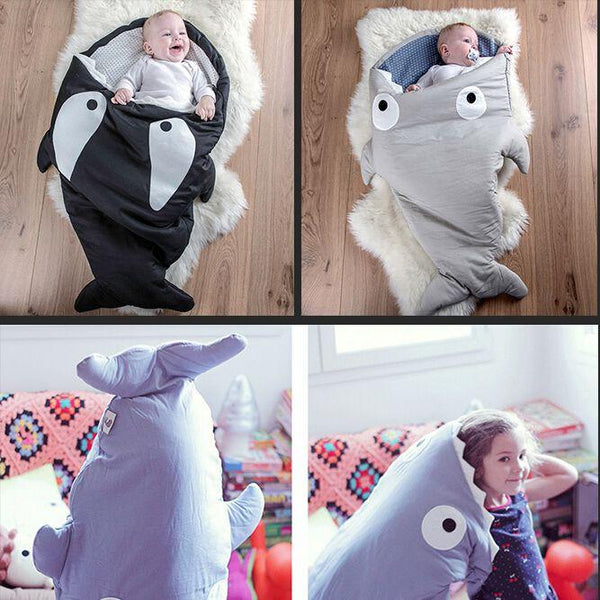 Shark Sleeping Bag For Babies And Infants Multiple Colors