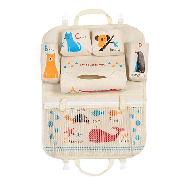 Kid's Car Seat Organizer by BabyTimesOriginals