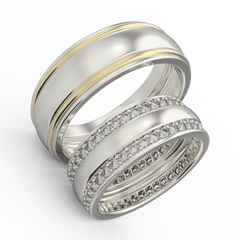 diamond wedding rings for couples