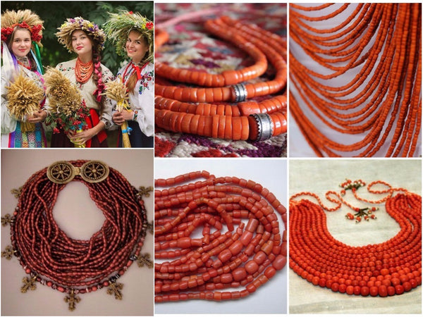 Types of necklace in Ukraine