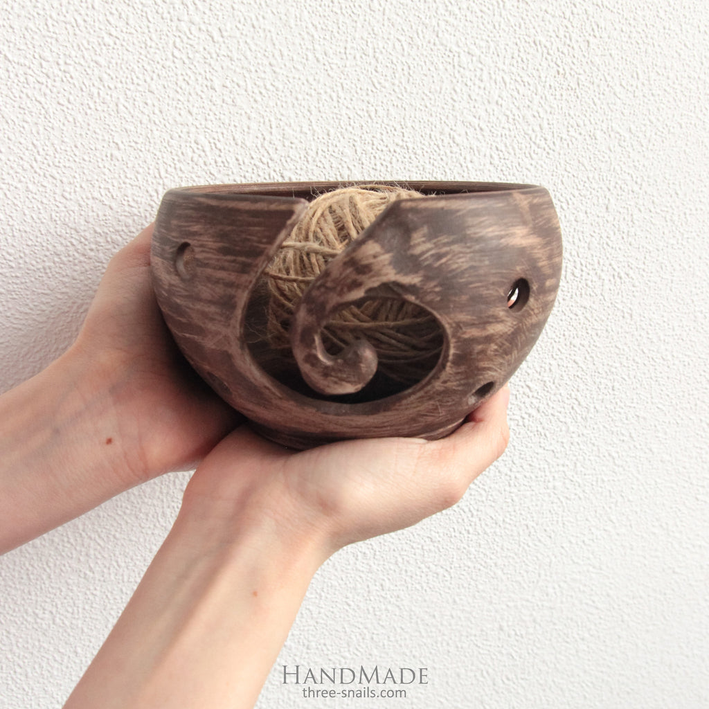 ceramic yarn pot