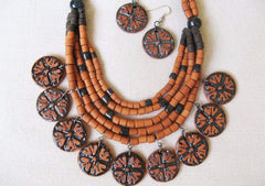 tribal jewelry set