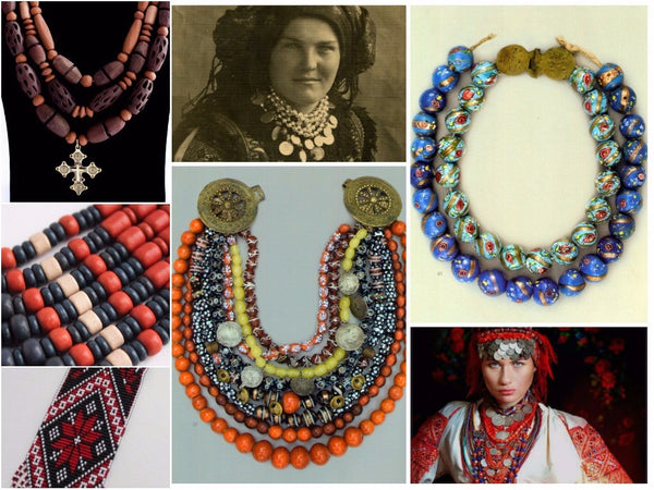 Types of ukrainian necklace