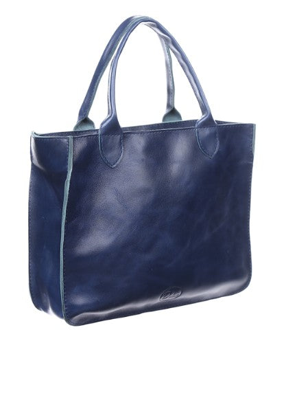 Big blue purse - 2