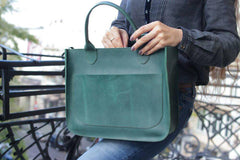 Green tote - 4