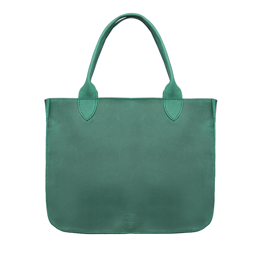 Green tote - 3