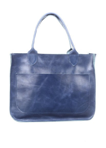 Big blue purse - 1