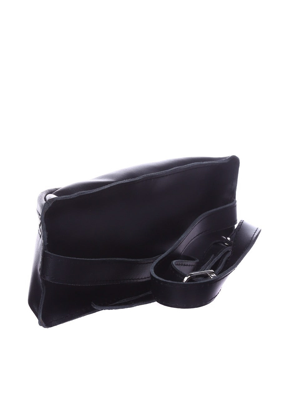 Black leather funny pack - 2