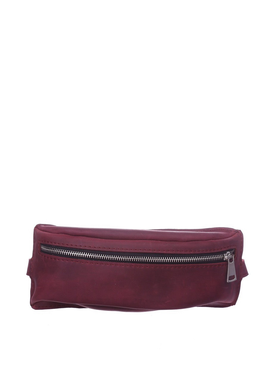 Genuine Leather Fanny Pack - 1