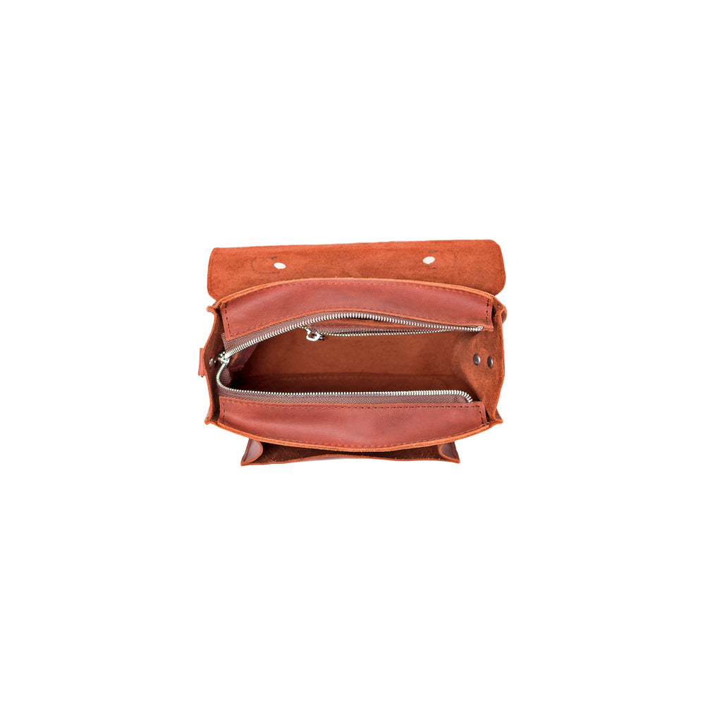 Ladies brown leather purse - 3