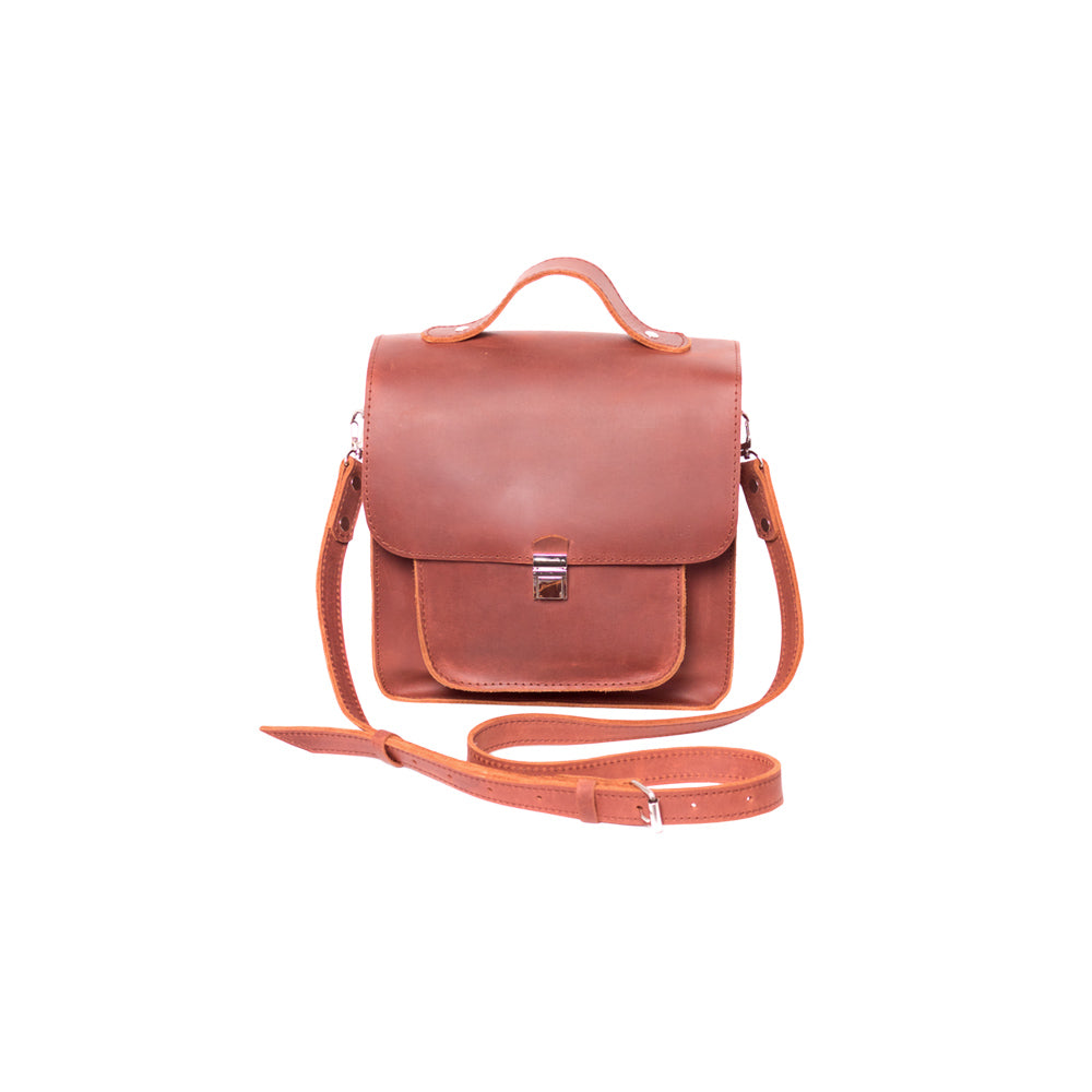 Ladies brown leather purse - 1