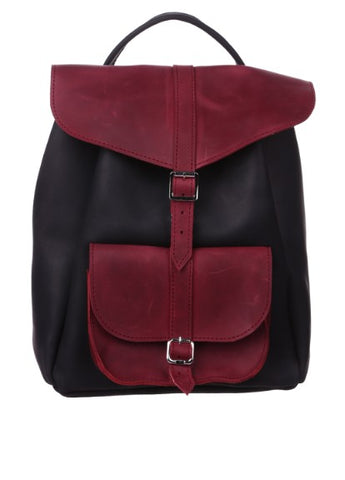 "Leather back pack ""Fashionmonger"""