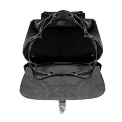 Small black ladies rucksack - 3