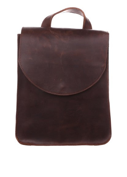 Ladies brown backpack - 1