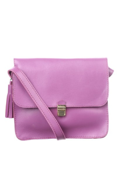 Lilac shoulder bag - 1