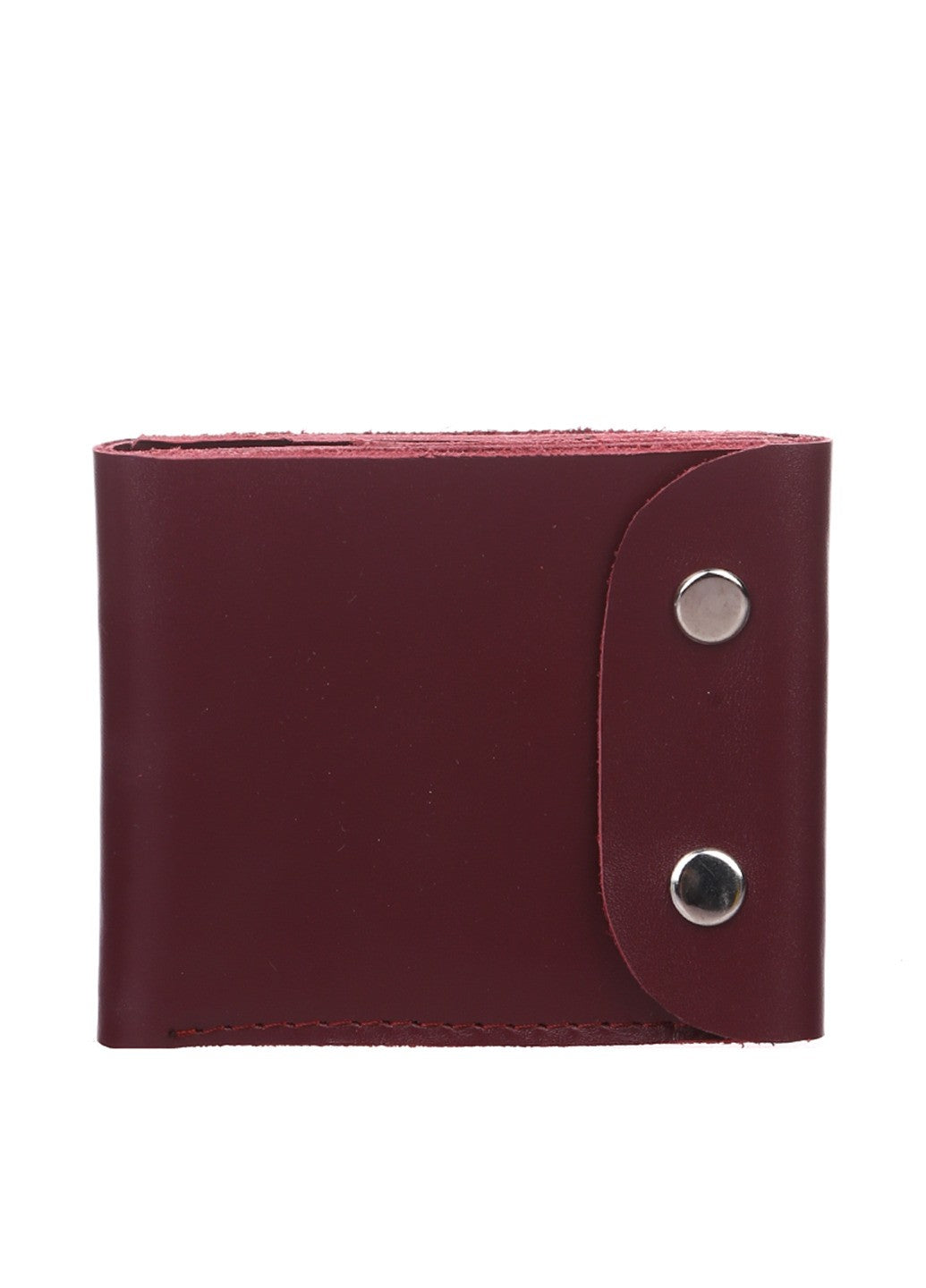 Handmade leather bifold wallet - 1