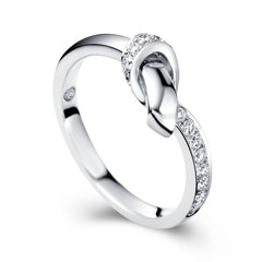 Diamond anniversary ring - 1