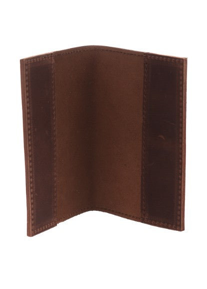 Red leather passport holder - 8