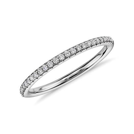 Half diamond eternity band 0.24 carat - 1