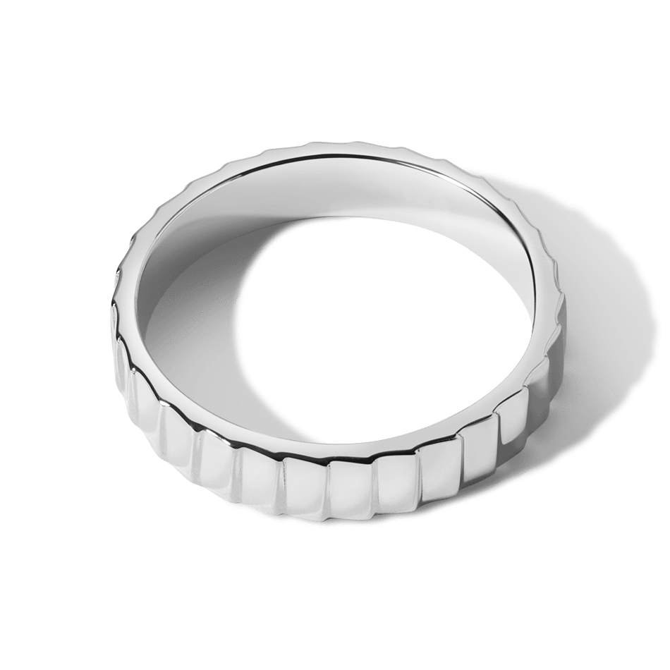 Infity ring band for women - 2