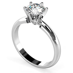 Women's diamond band ring 1 carat - 2