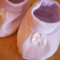 Baby girl suit christening set - 4