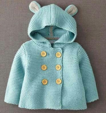 Baby hooded sweater
