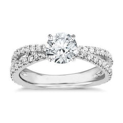 Diamond ring for wife 1 carat - 1
