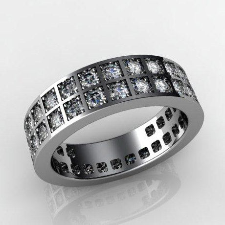 Hararuk Jewelry two raw diamond ring