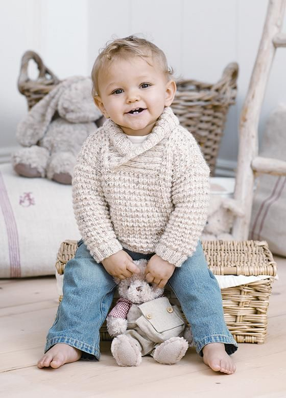 Baby warm woolen sweater - 1