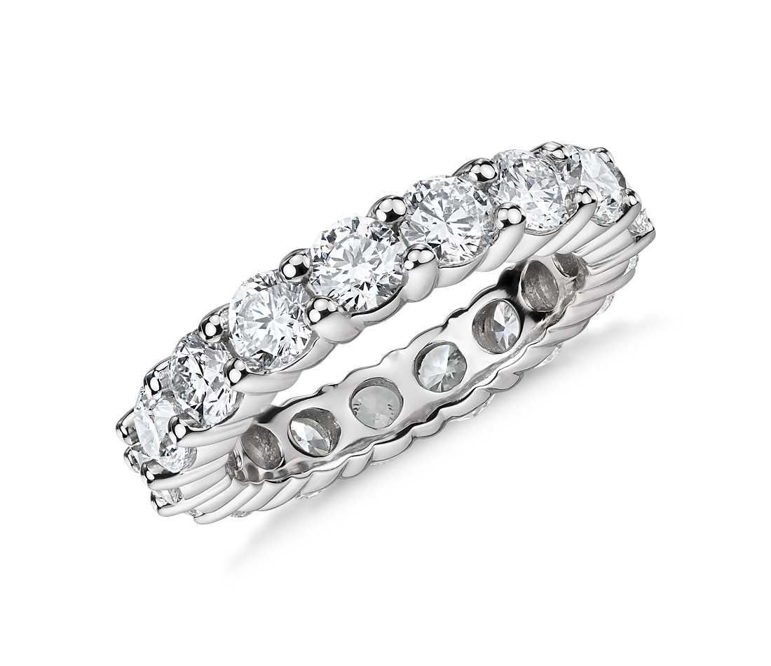 Round eternity ring for women - 1