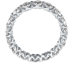 Diamond eternity ring for women - 2