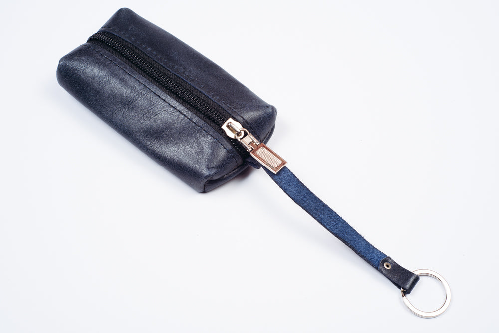 Leather key pouch - 3