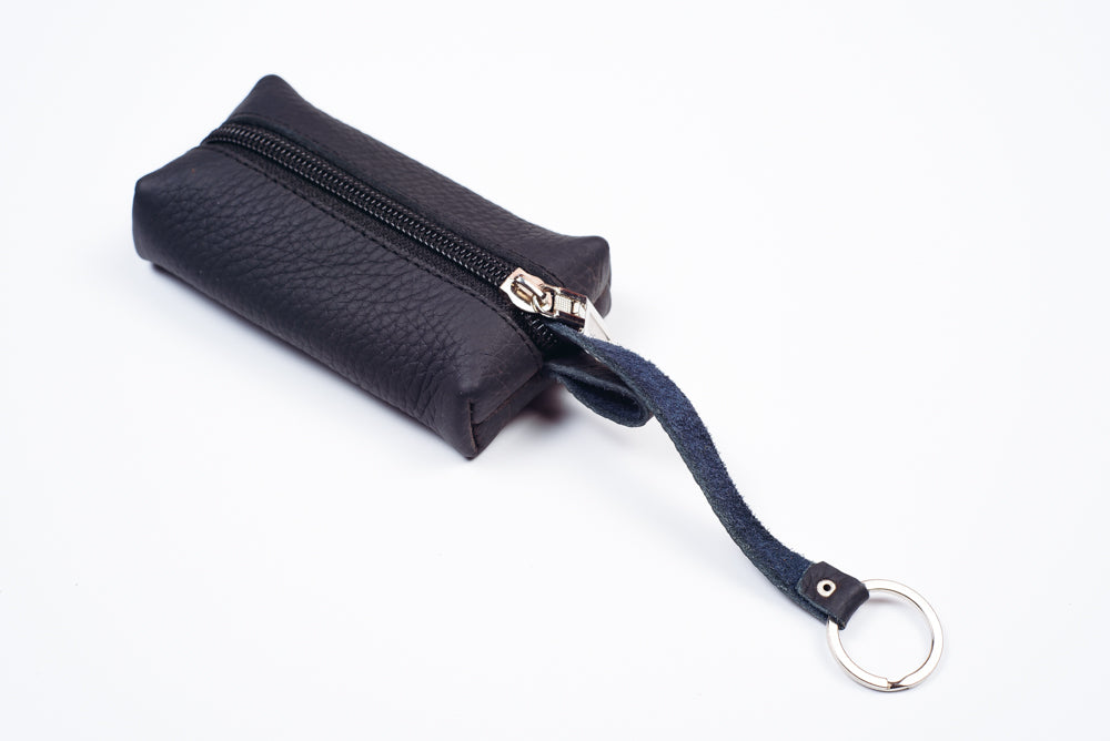 Leather keychain wallet - 2
