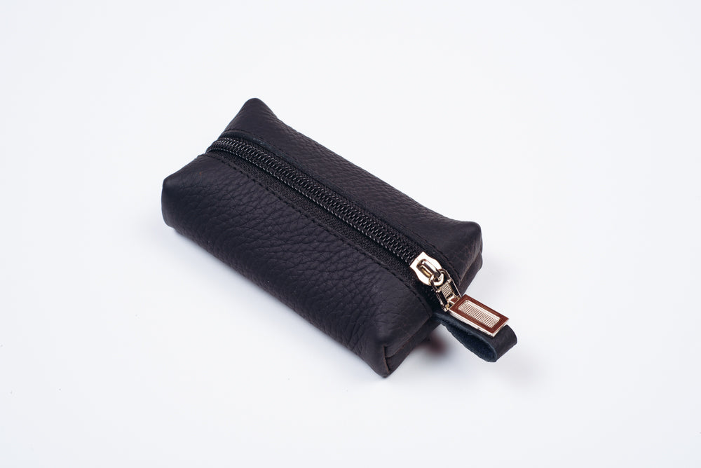 Leather keychain wallet - 4