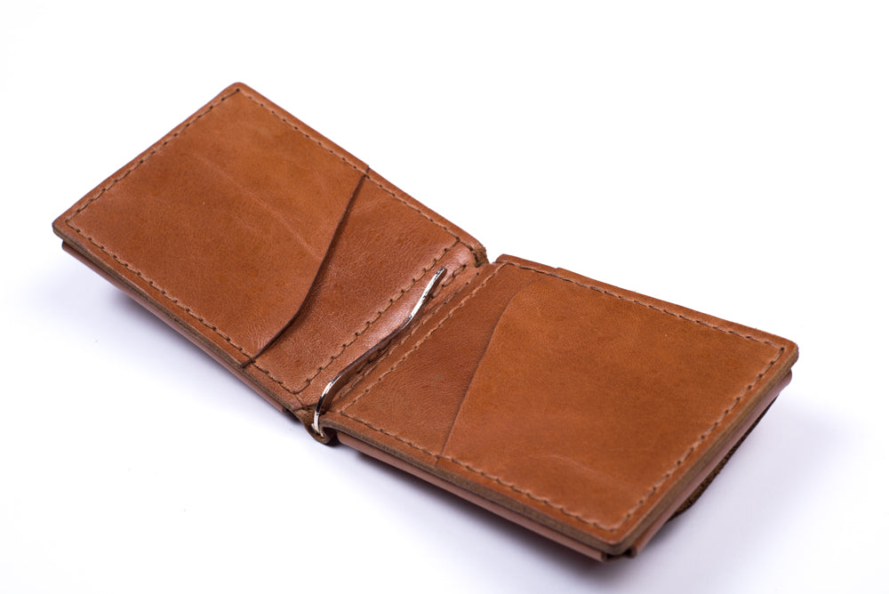 Men's brown wallet - 2