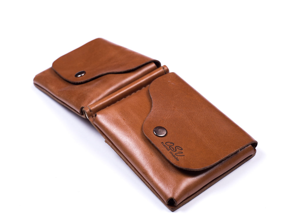 Men's brown wallet - 3