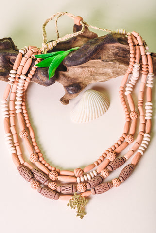 "Chunky necklaces ""Tradition"""