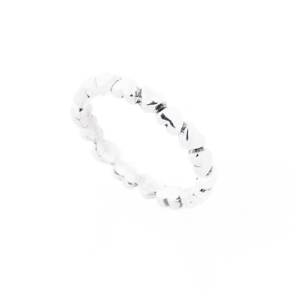 Stacking hearts ring - 1