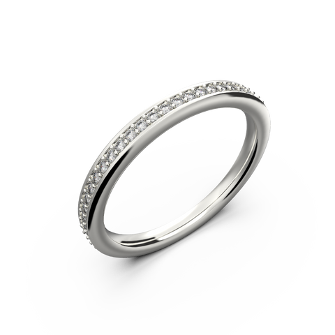 Beautiful diamond wedding band for her