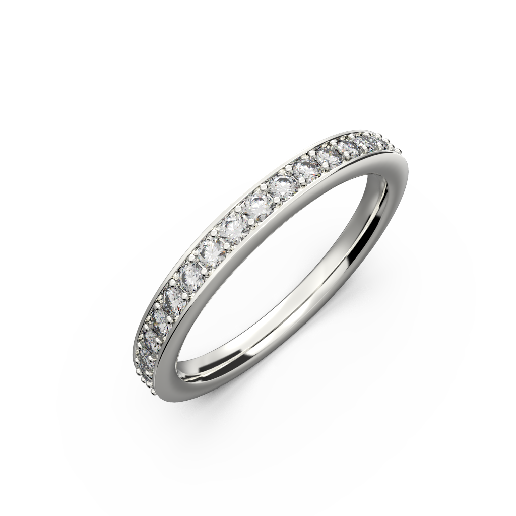 Thin wedding bands for her - 7
