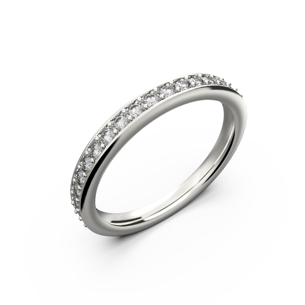 Thin wedding bands for her - 1