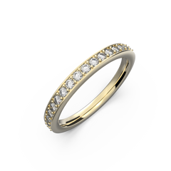 Thin wedding bands for her - 8