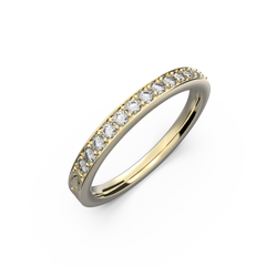 yellow gold ring TS